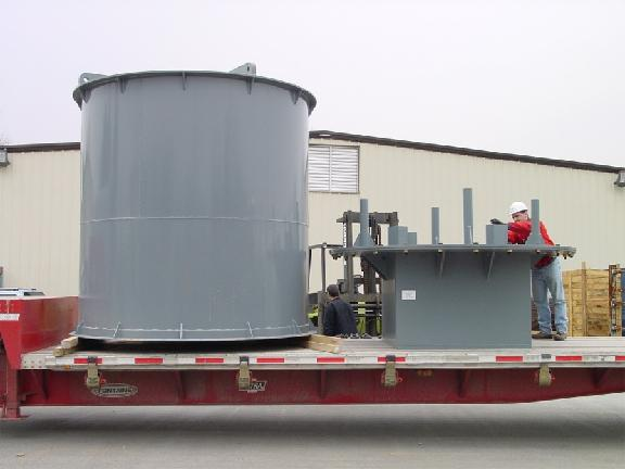 Shielded Base Steel RCP Rotating Element On-Site Storage & Handling Container
